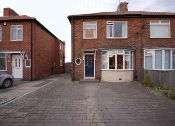 Thumbnail 3 bedroom semi-detached house for sale in Holystone Drive, Holystone, Newcastle Upon Tyne