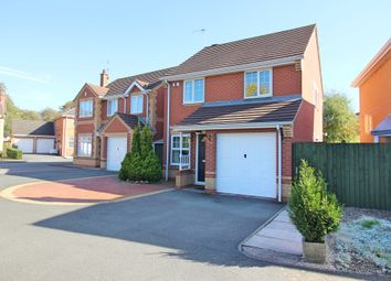 Thumbnail 3 bed detached house for sale in Starmer Close, Cosby, Leicester
