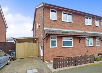 Thumbnail 2 bedroom semi-detached house for sale in Glover Street, Crewe