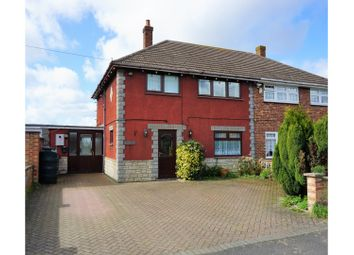 Thumbnail 4 bed semi-detached house for sale in Churchfield Road, Outwell