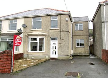 Thumbnail 4 bed semi-detached house for sale in Erw Terrace, Burry Port, Carmarthenshire.