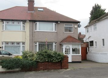 Thumbnail 3 bedroom semi-detached house to rent in 27 Penmon Drive, Heswall, Wirral