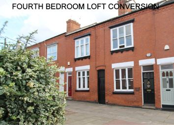 Thumbnail 4 bedroom terraced house for sale in Adderley Road, Clarendon Park, Leicester