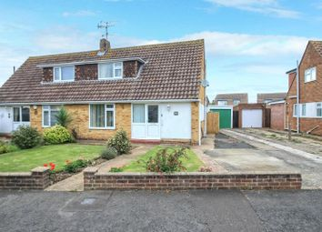 Thumbnail 2 bed semi-detached house for sale in Croshaw Close, Lancing, West Sussex