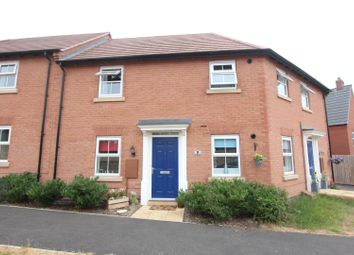 Thumbnail 2 bed flat for sale in Ivy House Close, Sapcote, Leicester