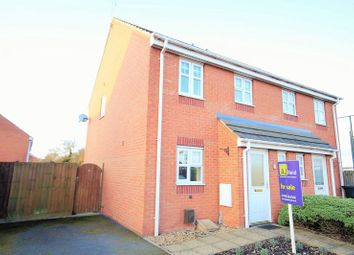 Thumbnail 3 bed semi-detached house for sale in Arlon Road, Market Drayton