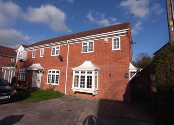 Thumbnail 3 bed end terrace house to rent in Edward Road, Windlesham, Surrey