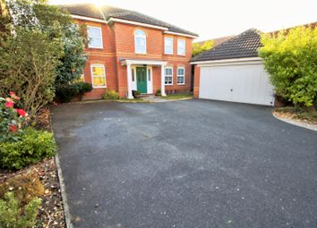 Thumbnail 4 bed detached house for sale in Lord Drive, Pocklington, York