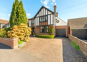 Thumbnail 3 bed detached house for sale in Cassiobury Drive, Watford, Hertfordshire