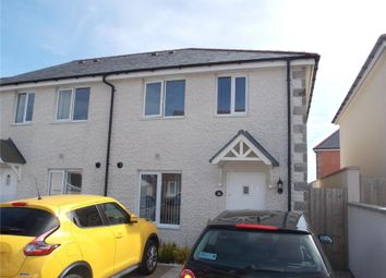 Thumbnail 2 bed semi-detached house for sale in Penwethers Crescent, Truro