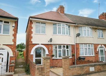 Thumbnail 3 bedroom end terrace house for sale in Lyncroft Way, Kingsthorpe Hollow, Northampton