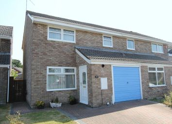 Thumbnail 3 bed semi-detached house for sale in Harding Close, Boverton, Llantwit Major