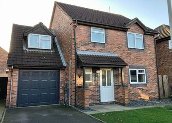 Thumbnail 4 bed detached house to rent in Foxglove Road, Leicester