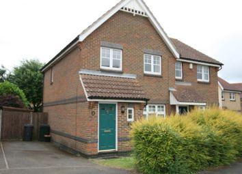 Thumbnail 3 bed semi-detached house to rent in Clarke Crescent, Kennington, Ashford, Kent