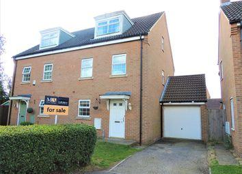 Thumbnail 4 bed town house for sale in John Davis Way, Watlington, King's Lynn