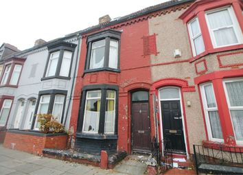 Thumbnail 4 bedroom terraced house for sale in Hawthorne Road, Bootle, Merseyside