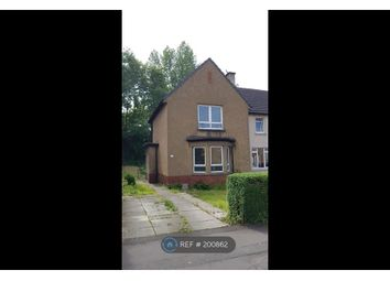 Thumbnail 2 bed semi-detached house to rent in Lesmuir Drive, Glasgow