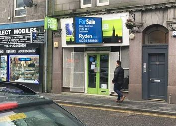 Thumbnail Retail premises for sale in George Street, Aberdeen