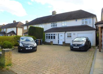 Thumbnail 4 bed semi-detached house for sale in St Margarets Road, Stanstead Abbotts, Ware