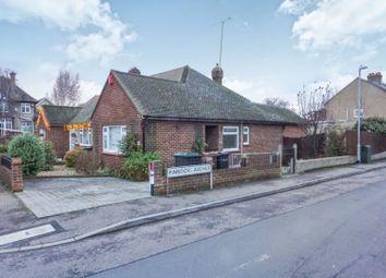 Thumbnail 2 bedroom semi-detached bungalow for sale in Pinnocks Avenue, Gravesend