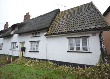 Thumbnail 3 bedroom end terrace house for sale in The Street, South Lopham, Diss