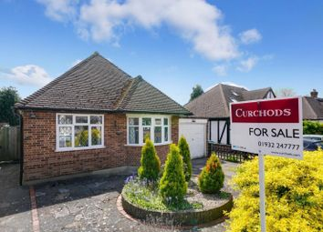 Thumbnail 2 bed detached bungalow for sale in Wolsey Drive, Walton-On-Thames