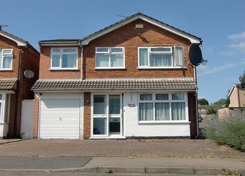 Thumbnail 4 bed detached house to rent in Windrush Drive, Oadby, Leicester