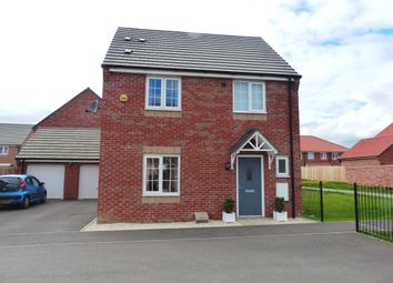 Thumbnail 3 bed detached house for sale in Felix Close, Peterborough