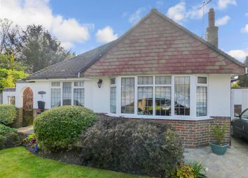 Thumbnail 2 bed detached bungalow for sale in Hall Close, Worthing, West Sussex