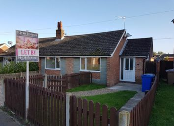 Thumbnail 3 bed bungalow to rent in Wingfield Road, Lakenheath