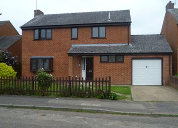Thumbnail 4 bed detached house to rent in Castle Meadow Close, Newport Pagnell, Milton Keynes