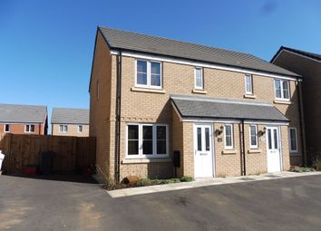 Thumbnail 3 bed semi-detached house for sale in Dunkley Way, Duston, Northampton