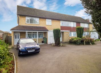 Thumbnail 2 bed flat for sale in Well Court, London Road, Cheam, Surrey