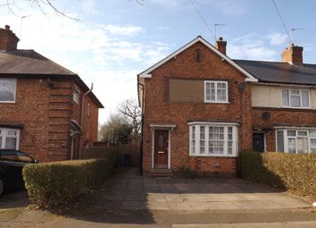 Thumbnail 3 bed end terrace house to rent in Severne Road, Birmingham, West Midlands