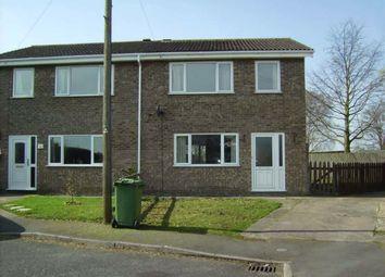 Thumbnail 3 bed semi-detached house to rent in Velden Way, Market Rasen