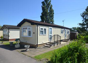 Thumbnail 1 bedroom mobile/park home for sale in Long Meadow, Cummings Hall Lane, Noak Hill, Romford