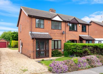 Thumbnail 3 bedroom semi-detached house for sale in College Road, Cranwell Village, Sleaford, Lincolnshire