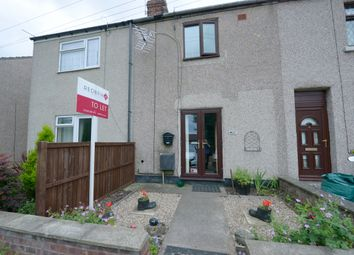 Thumbnail 2 bed terraced house to rent in 6 Prospect Cottage, Barlborough Road, Clowne