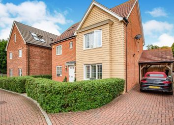 Thumbnail 5 bedroom detached house for sale in Bradbrook Drive, Longfield
