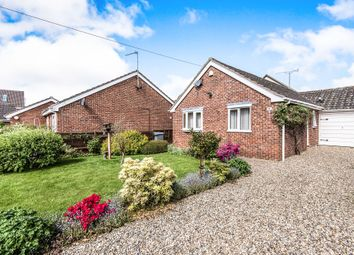 Thumbnail 3 bed detached bungalow for sale in Salhouse Road, Rackheath, Norwich