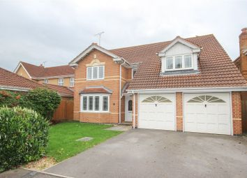Thumbnail 4 bed detached house for sale in Hawkins Crescent, Bradley Stoke, Bristol