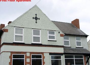 Thumbnail 2 bed flat for sale in Nottingham Road, Somercotes, Alfreton