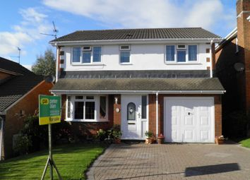 Thumbnail 4 bedroom detached house for sale in Clos Cwm Du, Pontprennau, Cardiff