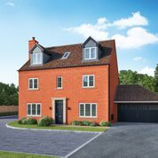 Thumbnail 5 bed detached house for sale in Crest Drive, Fenstanton