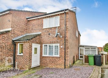 Thumbnail 2 bed end terrace house for sale in White Gates, New Costessey, Norwich