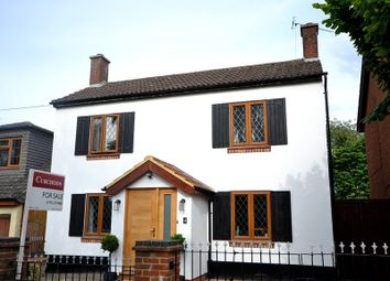 Thumbnail 3 bed detached house for sale in Furze Road, Addlestone