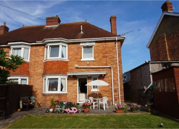 Thumbnail 3 bed semi-detached house for sale in Hewitt Crescent, Newport
