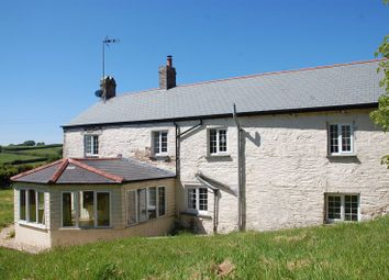 Thumbnail 4 bed farmhouse to rent in Braddock, Lostwithiel