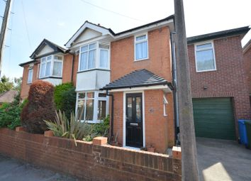 Thumbnail 4 bedroom semi-detached house for sale in Palmerston Road, Lower Parkstone, Poole