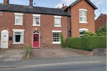Thumbnail 3 bed terraced house for sale in Rowantree Cottage, Elworth Street, Sandbach